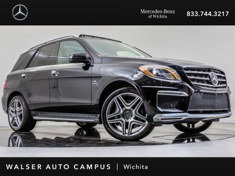 Pre-Owned 2015 Mercedes-Benz M-Class ML 63 AMG Navigation, Surround Camera