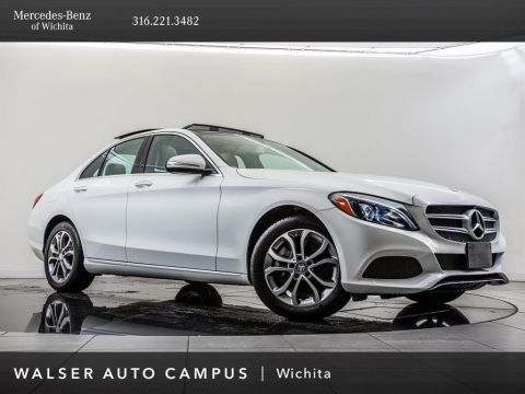 Pre-Owned 2015 Mercedes-Benz C-Class C 300 Sport 4MATIC®, Burmester Audio, Blind Spot