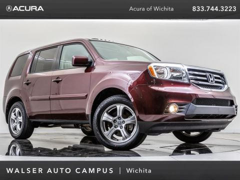 Pre-Owned 2013 Honda Pilot EX-L Moonroof, Rearview Camera, 3rd-Row Seating