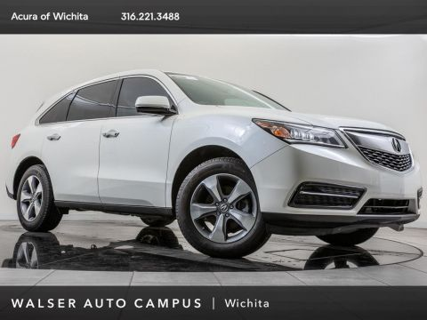 Pre-Owned 2016 Acura MDX AWD, Rear View Camera, Moonroof, Heated Seats