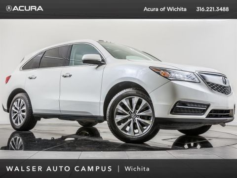 Pre-Owned 2015 Acura MDX Technology Package, Navigation, Moonroof, RV Cam