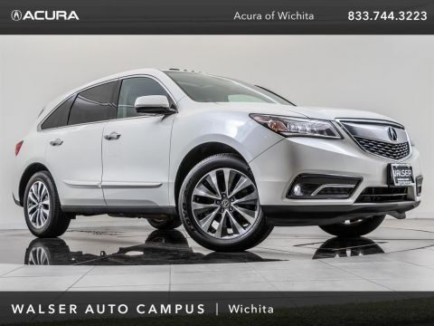 Pre-Owned 2016 Acura MDX Technology Package, Navigation, Moonroof, RV Cam
