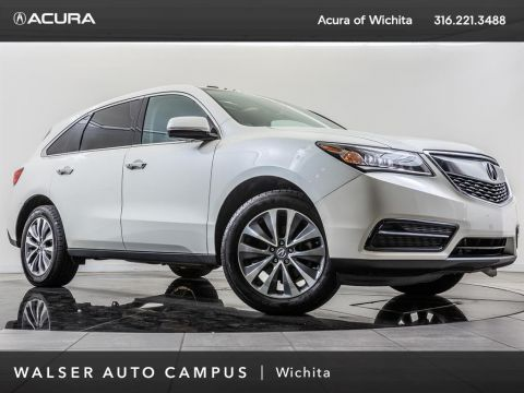 Pre-Owned 2016 Acura MDX Certified Pre-Owned, Sunroof, RV Cam, Heated Seats
