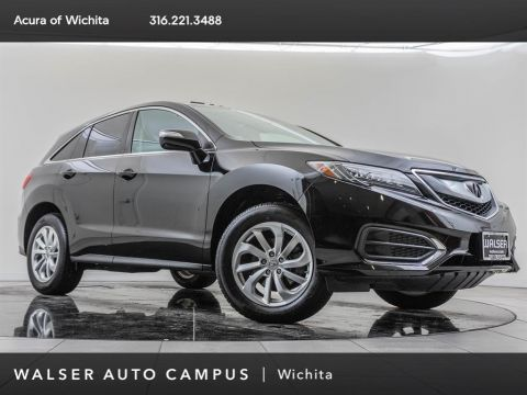 Pre-Owned 2017 Acura RDX LTHR MOON HSEATS
