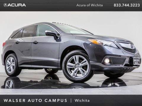 Pre-Owned 2015 Acura RDX Technology Package Bluetooth, Moonroof, Backup Ca