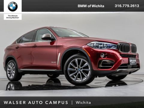 Pre-Owned 2017 BMW X6 xDrive50i Navigation, Head-Up Display, RV Camera