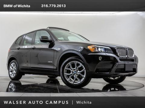 Pre-Owned 2013 BMW X3 xDrive35i, Navigation, Panoramic Moonroof, RV Cam