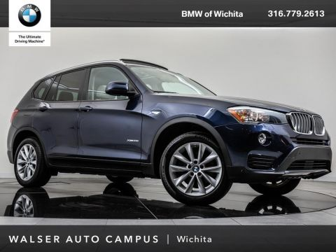 Pre-Owned 2015 BMW X3 xDrive28i, Rearview Camera, Panoramic Moonroof
