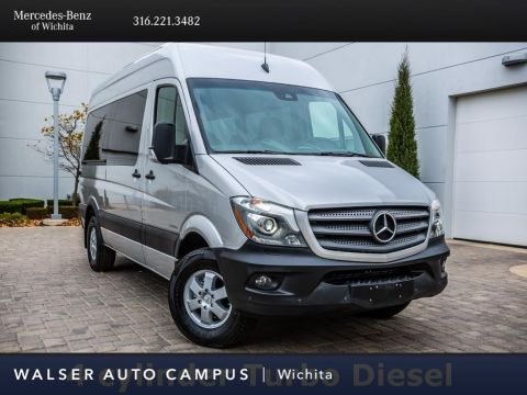Pre-Owned 2016 Mercedes-Benz Sprinter Passenger Vans 2500 144 WB Passenger, 4-Cyl, Navigation, RV Cam