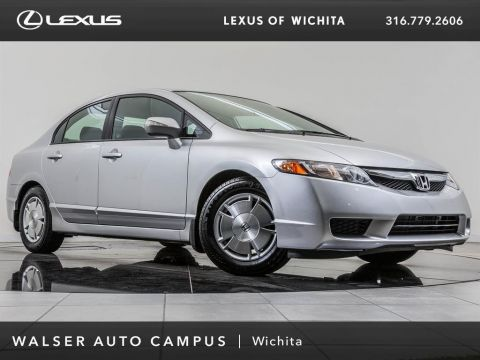 Pre-Owned 2009 Honda Civic Hybrid Hybrid, Alloy Wheels, CD Player