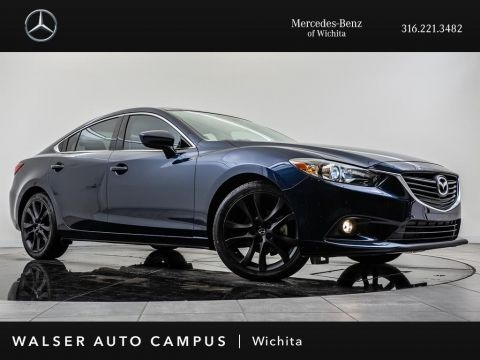 Pre-Owned 2015 Mazda6 i Grand Touring, Navigation, Sunroof