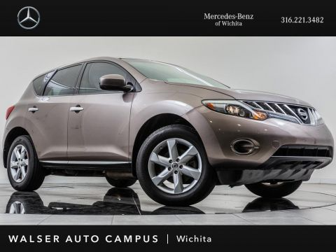 Pre-Owned 2009 Nissan Murano S, Power Winidows, Child Seat Anchors