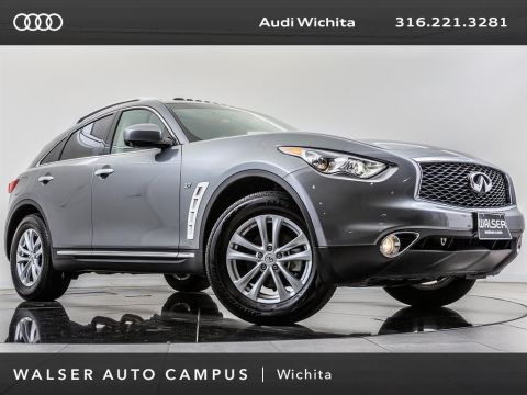 Pre-Owned 2017 INFINITI QX70 Navigation, Moonroof, Rear View Camera