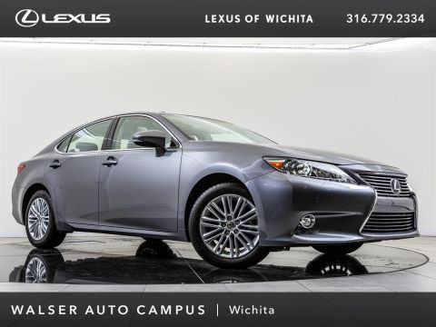 Certified Pre-Owned 2015 Lexus ES 350 Navigation, Blind Spot Monitor, Moonroof