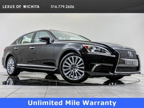 Certified Pre-Owned 2017 Lexus LS Comfort Package, Navigation, Upgraded Wheels