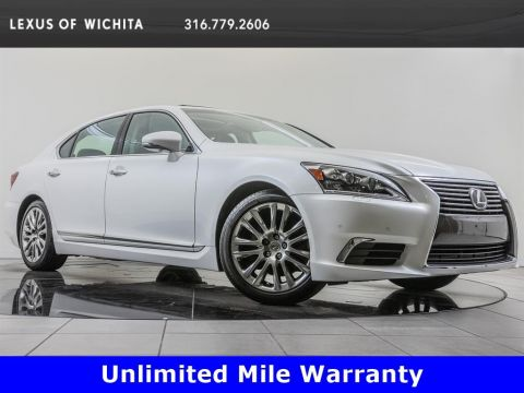 Certified Pre-Owned 2016 Lexus LS 460 L Navigation, Factory Wheel Upgrade