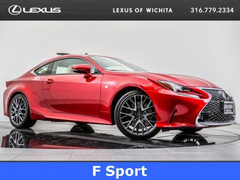Pre-Owned 2017 Lexus RC Mark Levinson, Navigation, Moonroof, Rearview Cam