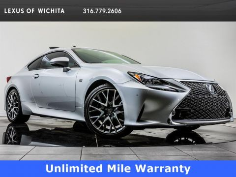 Certified Pre-Owned 2017 Lexus RC 350, F Sport, Navigation