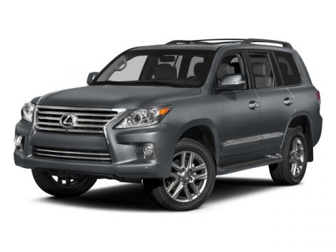 Pre-Owned 2015 Lexus LX 570 Mark Levinson, Rear Entertainment, Navigation