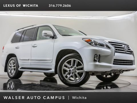 Pre-Owned 2014 Lexus LX 570 Luxury Package, Rear Seat Entertainment