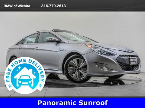 Pre-Owned 2014 Hyundai Sonata Hybrid Panoramic Sunroof Package
