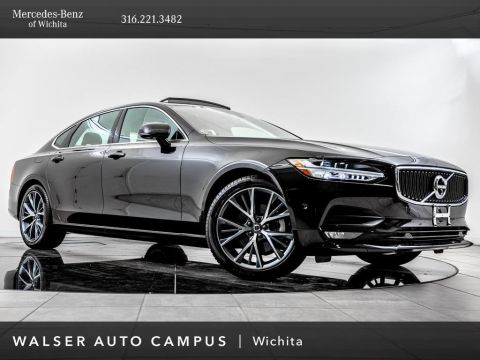 Pre-Owned 2018 Volvo S90 T5 Momentum, Navigation, Moonroof, Rear View Cam