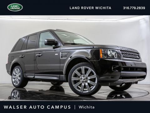 Pre-Owned 2011 Land Rover Range Rover Sport Supercharged, Navigation, Moonroof, Rear View Cam