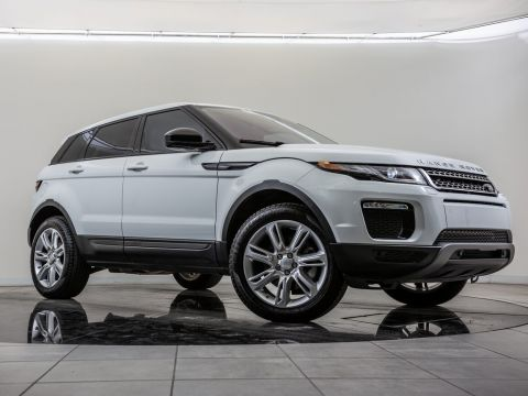 Certified Pre-Owned 2016 Land Rover Range Rover Evoque SE,Land Rover Approved Certified