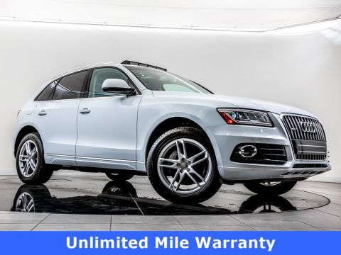 Certified Pre-Owned 2015 Audi Q5 TDI quattro, Audi Certified, Panoramic Roof