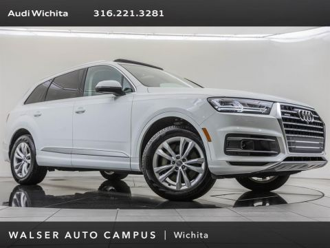 Pre-Owned 2017 Audi Q7 Factory Wheel Upgrade, Navigation, Premium Plus