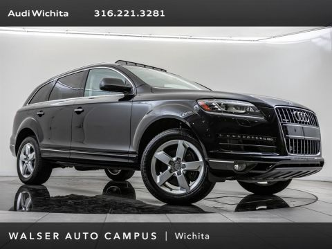 Pre-Owned 2015 Audi Q7 TDI Premium Plus quattro, Navigation, RV Camera