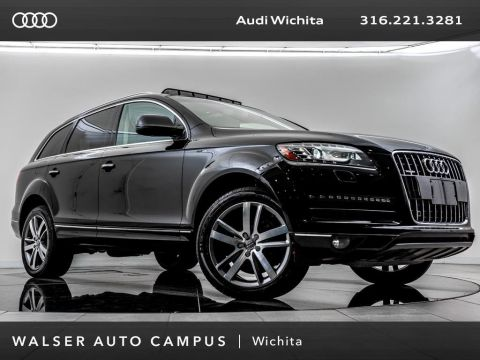 Pre-Owned 2014 Audi Q7 TDI Premium Plus quattro, Navigation, Panoramic