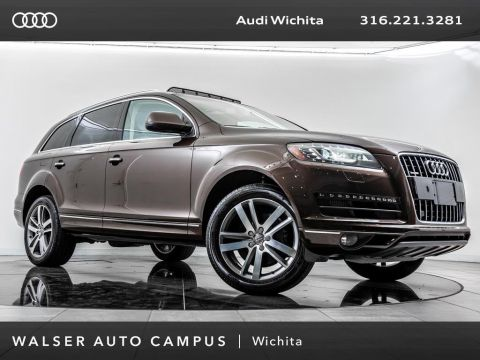 Pre-Owned 2014 Audi Q7 TDI Premium Plus quattro, Moonroof, Rear View Cam