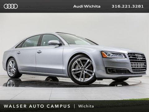 Certified Pre-Owned 2015 Audi A8 L L 3.0T quattro Navigation, Moonroof, Top-View Cam
