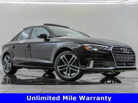 Certified Pre-Owned 2018 Audi A3 Sedan 2.0 TFSI Premium, Upgraded Wheels