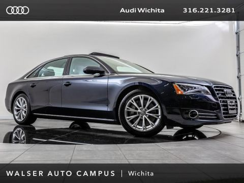 Pre-Owned 2012 Audi A8 L L 4.2 quattro, Panoramic Roof, Navigation