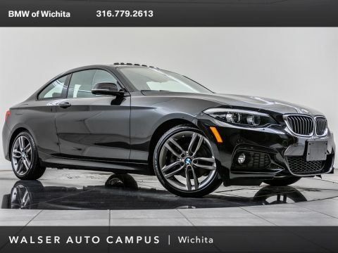Pre-Owned 2018 BMW 2 Series 230i M Sport, M Suspension, Navi, Moonroof,