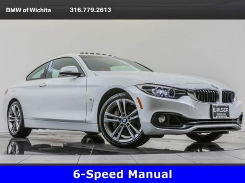 Pre-Owned 2019 BMW 4 Series 440i xDrive, 6-Speed Manual