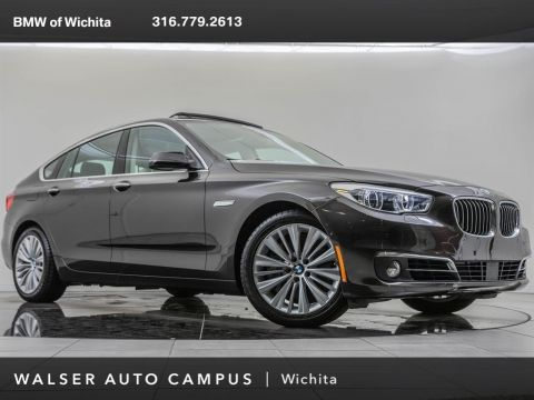 Pre-Owned 2017 BMW 5 Series 2017 BMW 550 GRAN TURISMO I XDRIVE (A8) 4DR HB AWD