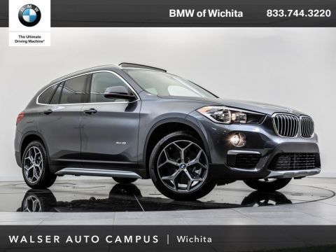 Pre-Owned 2018 BMW X1 xDrive28i Navigation, Panoramic Moonroof