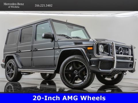 Pre-Owned 2016 Mercedes-Benz G-Class AMG® G63, designo Exclusive Leather Package