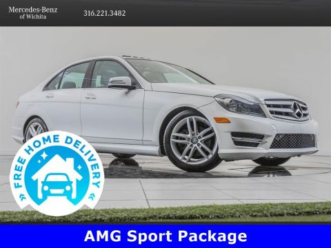 Pre-Owned 2013 Mercedes-Benz C-Class Premium 1 Package