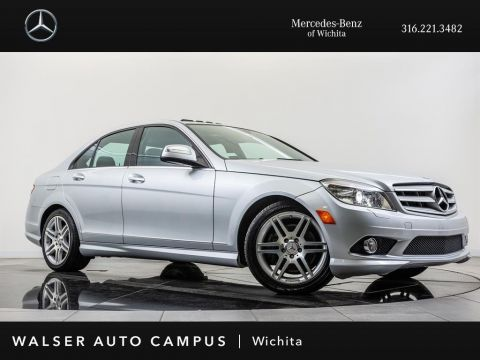 Pre-Owned 2008 Mercedes-Benz C-Class C350 Sport, Navigation, Moonroof, harman/kardon