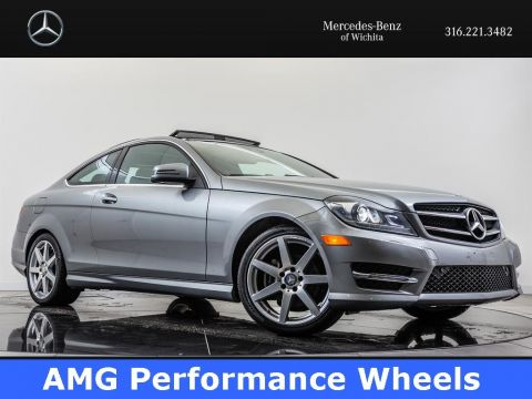 Pre-Owned 2015 Mercedes-Benz C-Class C 250, Navigation, Panoramic Sunroof, RV Camera