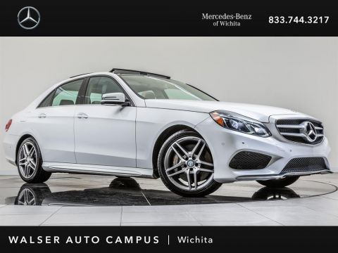 Pre-Owned 2014 Mercedes-Benz E-Class E550 Sport 4MATIC Navigation, Panoramic Roof