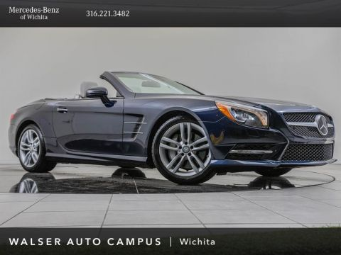 Pre-Owned 2015 MERCEDES-BENZ SL400 ROADSTER SL 400