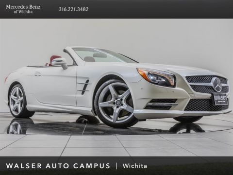 Pre-Owned 2016 MERCEDES-BENZ SL400 ROADSTER SL 400