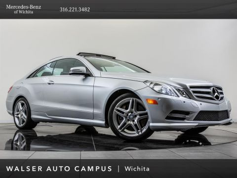 Pre-Owned 2013 Mercedes-Benz E-Class E550, PARKTRONIC, Navigation, Blind Spot Assist