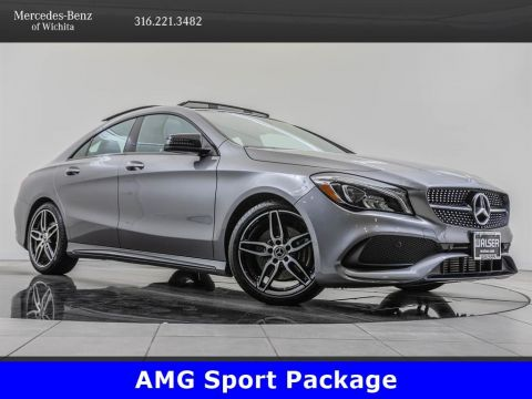 Pre-Owned 2019 Mercedes-Benz CLA CLA 250 4MATIC, AMG® Sport Package, Premium 1