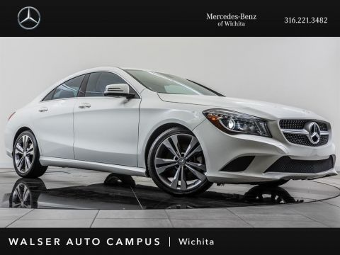 Pre-Owned 2014 Mercedes-Benz CLA CLA250, 18 Wheels, Power Front Seats, Xenon Lamps